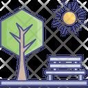 Bench Environment Park Icon