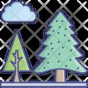 Cloud Nature Park Icon