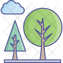 Cloud Nature Park Icon