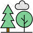 Summer Tree Nature Icon