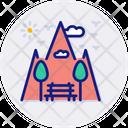 Park Mountains Environment Icon