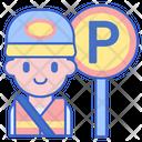 Park Attendant Icon