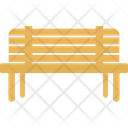 Park Bench Rest Seat Icon