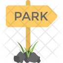 Park Signpost Sign Icon