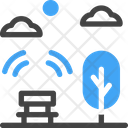 Public Wifi Internet Free Icon