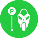 Parking Motorcycle Park Icon