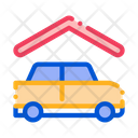 Covered Parking Car Icon