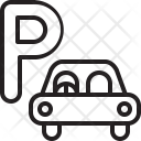 Parking Room Car Icon