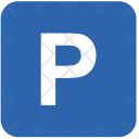 Parking Area Airport Icon