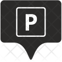 Parking Tag Place Icon