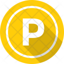 Parking Signboard Car Icon