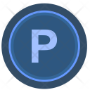 Parking Level Sign Icon