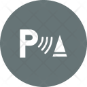 Parking Assist Signal Icon