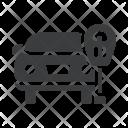 Parking Car Ticket Icon