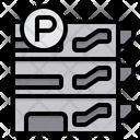 Parking Car Parking Building Icon