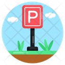 Parking Parking Board Sign Board Icon