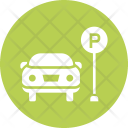 Parking Car Space Icon