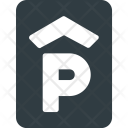 Parking House Sign Icon