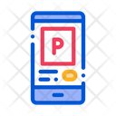 Application Parking Phone Icon