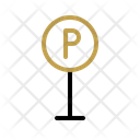 Parking Area Parking Sign Icon