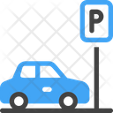 Parking Area Car Parking Icon
