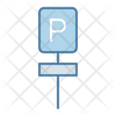 Parking Board Car Parking Parking Area Icon
