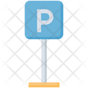 Parking Free Parking Letter P Icon