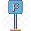 Parking Board Icon