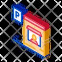 Parking Car Road Icon