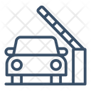 Parking gate Icon