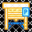Parking Gate Icon