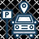 Parking Location Car Parking Parking Garage Icon