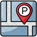 Parking Location Parking Area Parking Nearby Icon