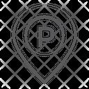 Parking Location Parking Address Location Pointer Icon