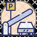 Parking Lot Parking Area Car Parking Icon