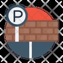 Parking Space Carport Car Parking Icon