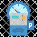 Parking Meter Transportation Icon