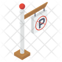 Parking Prohibition Sign Icon