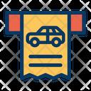 Parking Receipt Icon