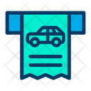 Check Parking Payment Icon