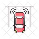 Car Driving Safety Icon