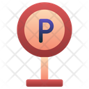 Parking Signboard Parking Sign Road Sign Icon