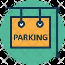 Park Car Parking Sign Icon