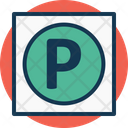 Parking Signboard Icon