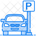 Car Parking Parking Space Parking Area Icon