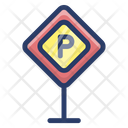 Parking Stand Parking Signboard Car Parking Icon