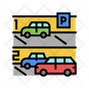 Parking Street Car Parking Parking Area Icon
