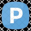Parking Symbol Icon