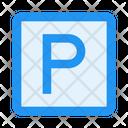 Parking Zone Icon