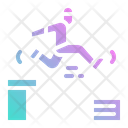 Parkour Sports Competition Icon